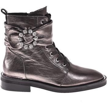 Čevlji  Ženske Gležnjarji Elvio Zanon I8101N Siva
