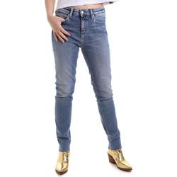 Oblačila Ženske Kavbojke slim Calvin Klein Jeans J20J212737 Modra