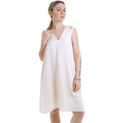 Oblačila Ženske Kratke obleke Calvin Klein Jeans K20K202022 Bež