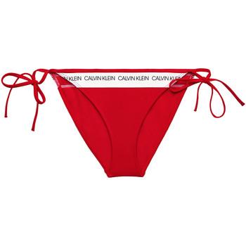 Oblačila Ženske Kopalke ločene Calvin Klein Jeans KW0KW00931 Rdeča
