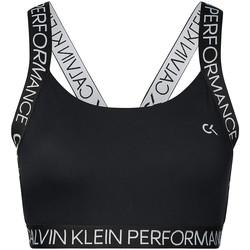 Oblačila Ženske Športni nedrčki Calvin Klein Jeans 00GWH9K169 Črna