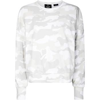 Oblačila Ženske Puloverji Calvin Klein Jeans 00GWH9W391 Biely