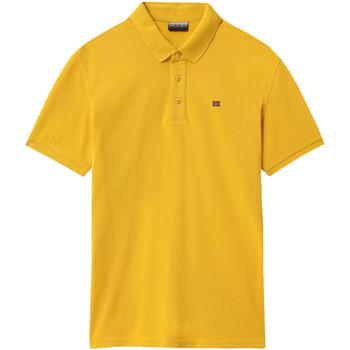 Oblačila Moški Polo majice kratki rokavi Napapijri NP0A4E2M Rumena
