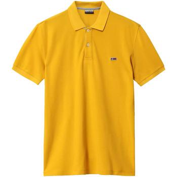 Oblačila Moški Polo majice kratki rokavi Napapijri NP0A4EGD Rumena