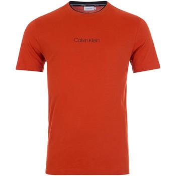 Oblačila Moški Majice s kratkimi rokavi Calvin Klein Jeans K10K104934 Rdeča