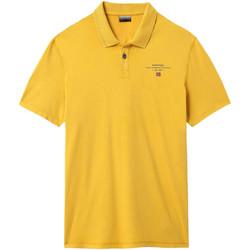 Oblačila Moški Polo majice kratki rokavi Napapijri NP0A4E2L Rumena