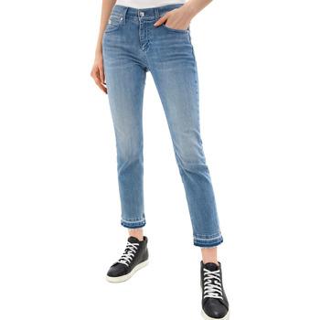 Oblačila Ženske Kavbojke slim Calvin Klein Jeans K20K201760 Modra
