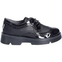 Čevlji  Otroci Čevlji Derby Melania ME6225F8I.A Črna