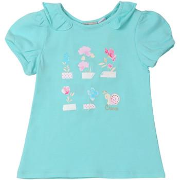 Oblačila Otroci Majice s kratkimi rokavi Chicco 09006969000000 Modra