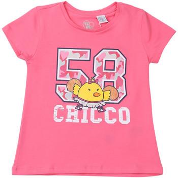 Oblačila Otroci Majice s kratkimi rokavi Chicco 09006955000000 Roza