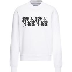 Oblačila Ženske Puloverji Calvin Klein Jeans J20J212984 Biely