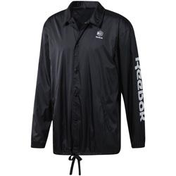 Oblačila Moški Vetrovke Reebok Sport DT8205 Črna