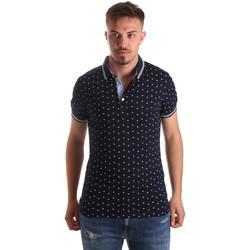 Oblačila Moški Polo majice kratki rokavi Navigare NV82099 Modra