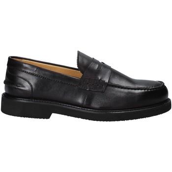 Čevlji  Moški Mokasini Exton 9102/ Črna