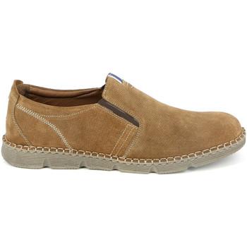 Čevlji  Moški Mokasini Grunland SC4526 Rjav