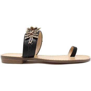 Čevlji  Ženske Japonke Gold&gold A19 GL303 Črna