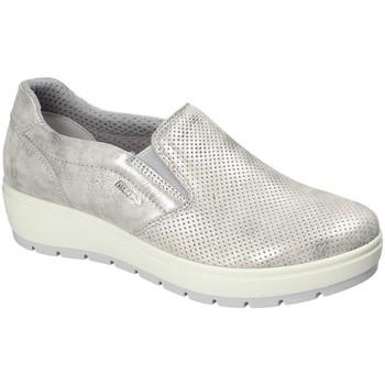 Čevlji  Ženske Slips on Enval 3268011 Srebro