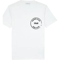 Oblačila Moški Majice s kratkimi rokavi Calvin Klein Jeans K10K104509 Biely