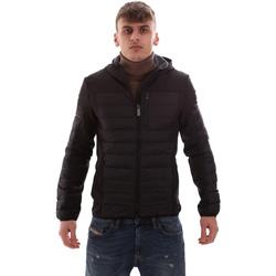 Oblačila Moški Puhovke Lumberjack CM69422 001 601 Črna