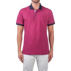 Oblačila Moški Polo majice kratki rokavi Navigare NV82124 Vijolična