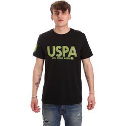 Oblačila Moški Majice s kratkimi rokavi U.S Polo Assn. 57197 49351 Črna