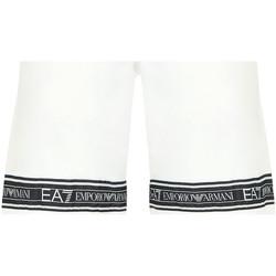 Oblačila Moški Kopalke / Kopalne hlače Ea7 Emporio Armani 3HPS56 PJ05Z Biely