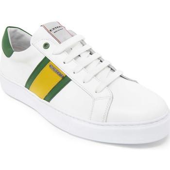 Čevlji  Moški Nizke superge Exton 861 Biely