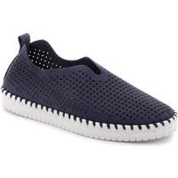 Čevlji  Ženske Slips on Grunland SC4910 Modra