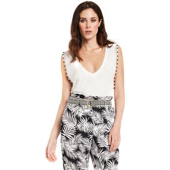 Oblačila Ženske Topi & Bluze Gaudi 011FD64008 Biely