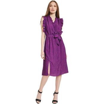 Oblačila Ženske Dolge obleke Gaudi 011BD15004 Vijolična