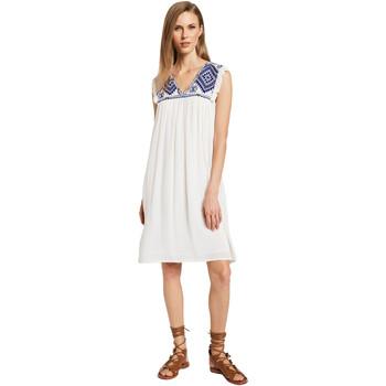 Oblačila Ženske Kratke obleke Gaudi 011BD15007 Bež