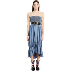 Oblačila Ženske Dolge obleke Denny Rose 011ND16002 Modra