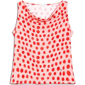 Oblačila Ženske Topi & Bluze NeroGiardini E062810D Roza