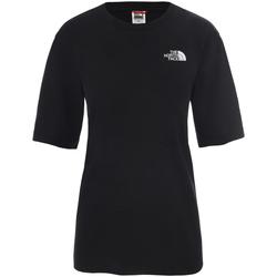 Oblačila Ženske Majice s kratkimi rokavi The North Face NF0A4CESJK31 Črna