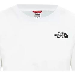 Oblačila Ženske Majice s kratkimi rokavi The North Face NF0A4CESFN41 Biely