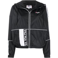 Oblačila Ženske Športne jope in jakne Fila 687692 Črna