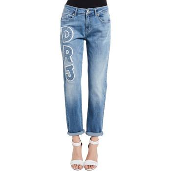 Oblačila Ženske Jeans Denny Rose 011ND26013 Modra