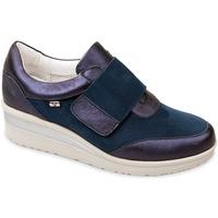 Čevlji  Ženske Slips on Valleverde V20370 Modra