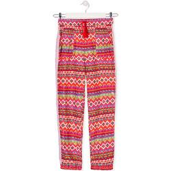 Oblačila Otroci Lahkotne hlače & Harem hlače Losan 014-9014AL Rdeča