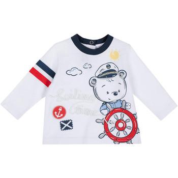 Oblačila Otroci Majice z dolgimi rokavi Chicco 09006877000000 Biely