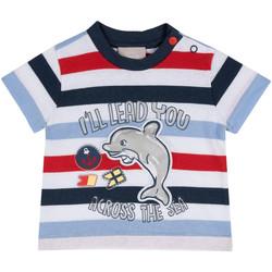 Oblačila Otroci Majice s kratkimi rokavi Chicco 09006876000000 Modra