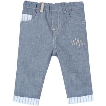 Oblačila Otroci Hlače s 5 žepi Chicco 09008117000000 Modra