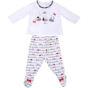 Oblačila Otroci Otroški kompleti Chicco 09076457000000 Biely
