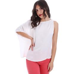 Oblačila Ženske Topi & Bluze Gaudi 011FD45057 Biely