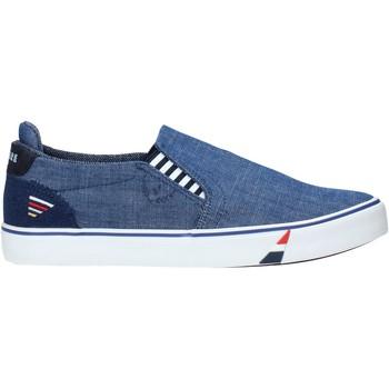 Čevlji  Moški Slips on Navigare NAM010006 Modra