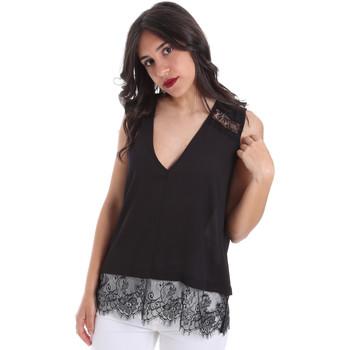Oblačila Ženske Topi & Bluze Gaudi 011FD45055 Črna