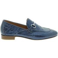 Čevlji  Ženske Mokasini Mally 6105 Modra
