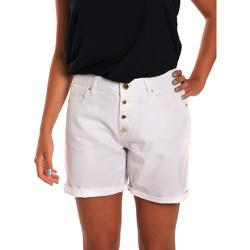 Oblačila Ženske Kratke hlače & Bermuda Gaudi 811BD25015 Biely