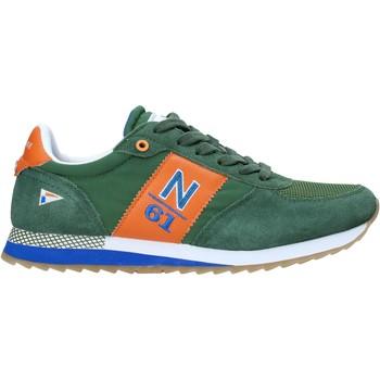 Čevlji  Moški Nizke superge Navigare NAM013550 Zelena
