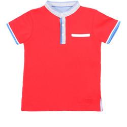 Oblačila Otroci Polo majice kratki rokavi Losan 015-1791AL Rdeča